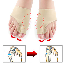 Ortopédica juanete Corrector para dedo del pie Corrector de Hallux Valgus del dedo del pie separador férula dolor alivio Cuidado De pie pedicura herramientas Toe esparcidor