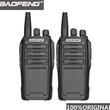 2 adet Baofeng UV 6 8W amatör radyo güvenlik görevlisi ekipmanı iki yönlü radyo şifreli el telsizi amatör radyo HF alıcı verici