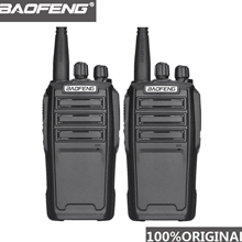 2 pçs baofeng UV 6 8w ham rádio equipamento de segurança em dois sentidos rádio criptografado handheld walkie talkie ham rádio hf transceptor