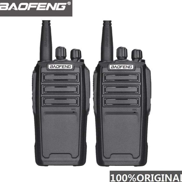 Baofeng UV 6 Radio de seguridad de 8W Ham, equipo de protección de Radio bidireccional, Walkie Talkie de mano cifrado Ham Radio HF transceptor, 2 uds.