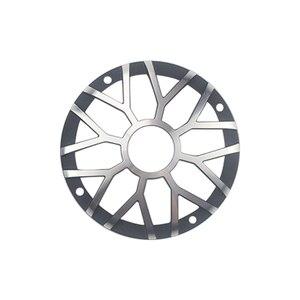 "Image 3 - GHXAMP 3 inch 92MM Car Center Speaker Grill Mesh For 3"" 3.5"" inch Car Midrange Speaker Cover Aluminum Decorative net 1Pairs"