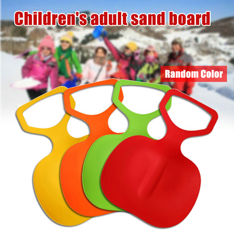 HOT Thickened Snow Sand Slider Board Grass Skiing Pad Lightweight Snowboard HV99
