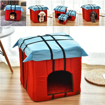 Pet House Dog Bed For Dogs Cats Small Animals Products 1