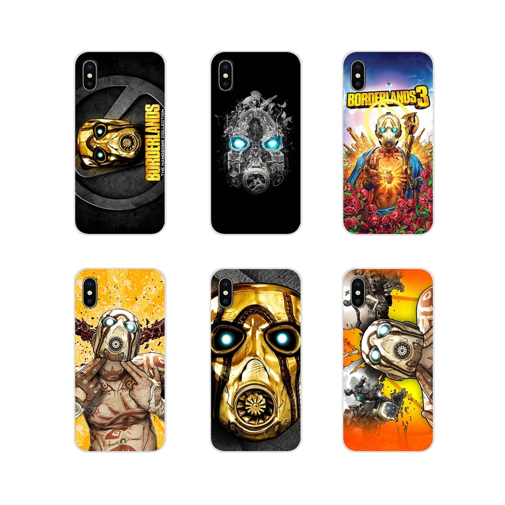 <font><b>Borderlands</b></font> Pre Sequel Mask For Samsung A10 A30 A40 A50 A60 A70 Galaxy S2 Note 2 3 Grand Core Prime Transparent Soft Cases Cover image