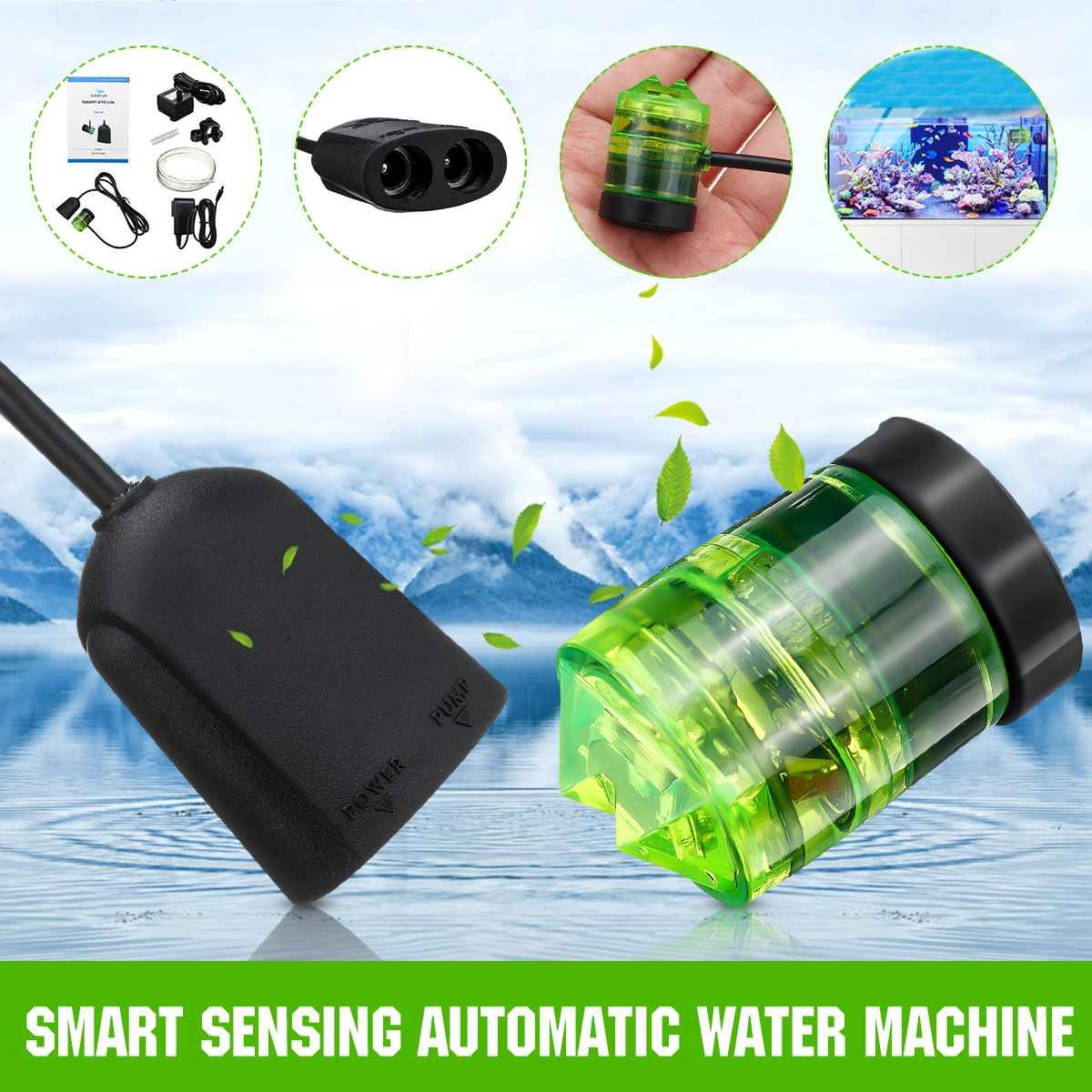 ZEAST Micro intelligent distributeur d'eau contrôleur pompe double capteur électrique optique flotteur capteur commutateur Aquarium automatique pompe réservoir