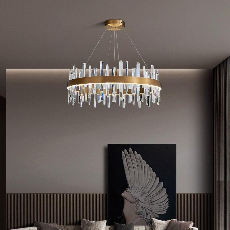 2020 New Crystal Chandelier Light, Dining Room Chandelier Lighting