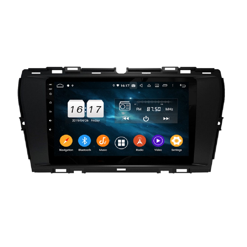 DSP PX6 4GB RAM 9 Android 9.0 Car Radio DVD GPS for SsangYong Korando 2019 2020 Auto Stereo Wifi Bluetooth 5.0 Easy Connect image