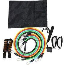 Набор фитнес браслетов штабелируемые тренировочные ленты с водонепроницаемым