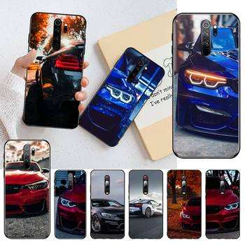 HPCHCJHM Blue Red Car for Bmw Phone Case Cover for Redmi Note 8 8A 8T 7 6 6A 5 5A 4 4X 4A Go Pro image