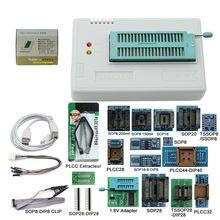 2020 v10.31 xgecu 100% original minipro tl866ii plus + 12 adaptadores eeprom + 17 adaptadores universal bios usb programador