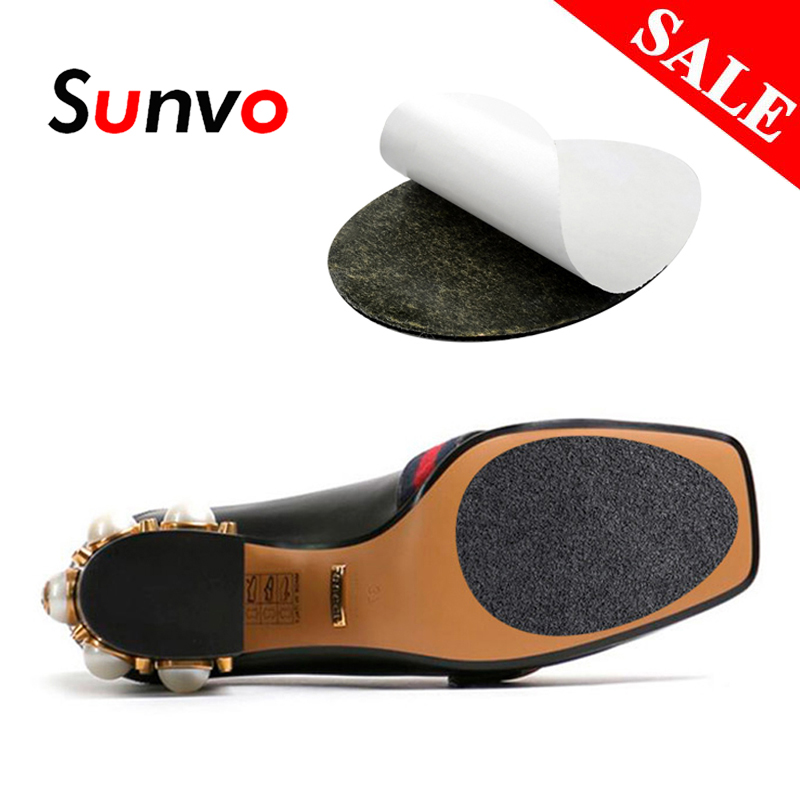 Anti-Slip Soles For Shoes Protector Women High Heel Sole Non Slip Sticker Rubber Grips Forefoot Outsoles Pad Insert Dropshipping