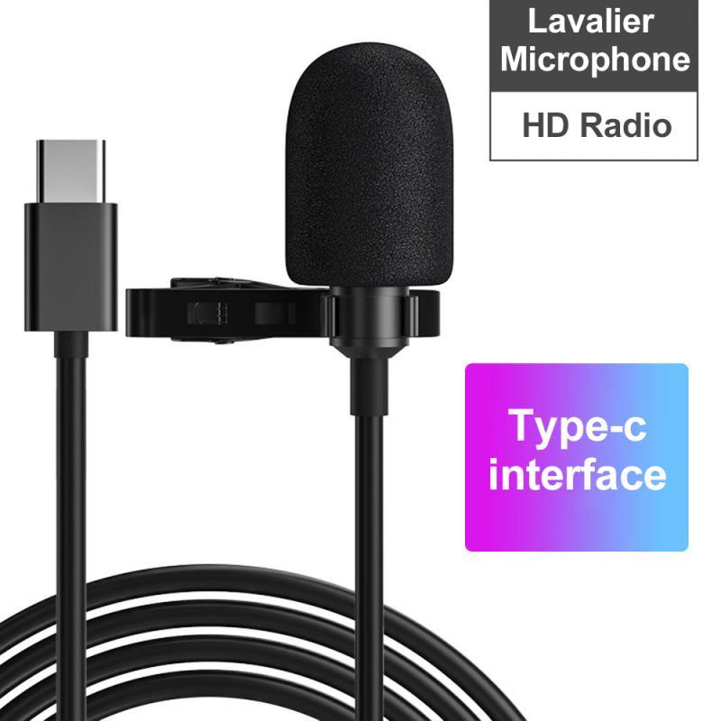 Многофункциональный микрофон, разъем 3,5 мм, микрофон-петличка с зажимом для галстука, микро-мини-Аудио Микрофон для компьютера, ноутбука, мо...