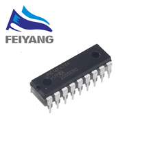100 قطعة PIC16F628A I/P PIC16F628 16F628A DIP 18 جديدة ومبتكرة PIC16F628A IP