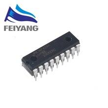 100pcs PIC16F628A I/P PIC16F628 16F628A DIP 18 חדש ומקורי PIC16F628A IP