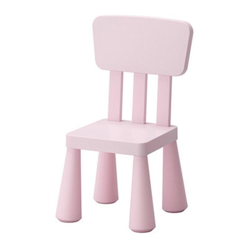 67*30*30 см Безопасный детский стул детский задний стул для отдыха утолщенный детский стул - Цвет: Розовый