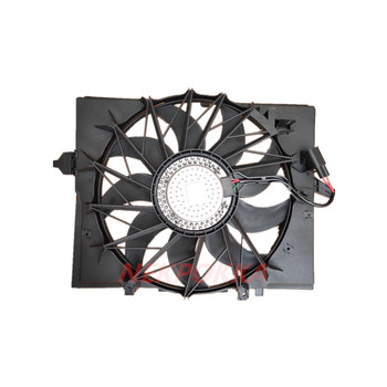Cooling fan for BMW E60 600W 5 Series,Condenser electronic fan,water tank fan for BMW E60 17427543282 image