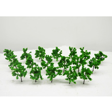 6cm height model wire green trees toys scale miniature architecture color plants for tiny diorama forest garden scenery making
