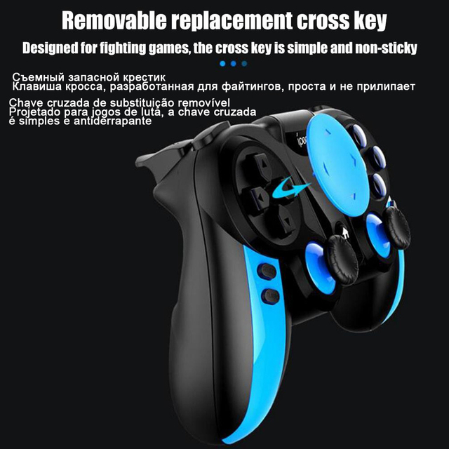 PG-9090 Gamepad Trigger Pubg Controller Mobile Joystick For Phone Android iPhone 3