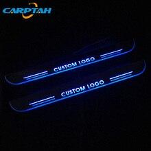 цена на CARPTAH Trim Pedal Car Exterior Parts LED Door Sill Scuff Plate Pathway Dynamic Streamer light For Infiniti FX30 FX50 FX35 FX37