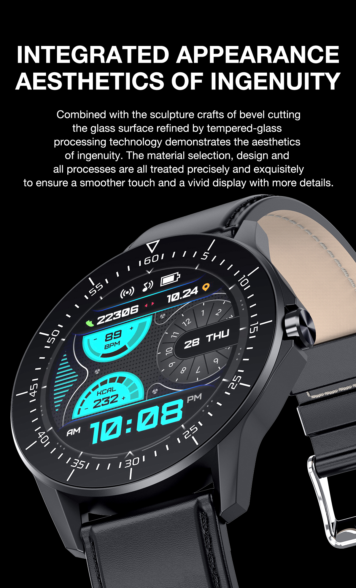 Smart Watch For Huawei  Apple Xiaomi Bluetooth Call reminder smartwatch Men IP68 Waterproof Fitness watch sport Smart watch 2021 5
