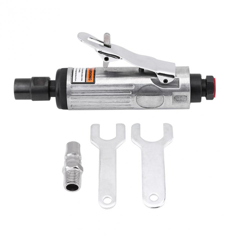 1/4Inch Pneumatic Air Die Grinder Grinding Kit Polishing Engraving Tools 90PSI Tool Professional-in Pneumatic Tools from Tools on