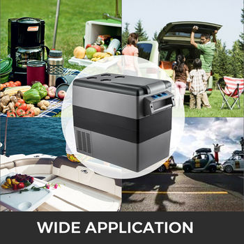 VEVOR-Mini nevera portátil para vehículos, refrigerador de coche, camión, barco, 12V, 20L, 22L, 35L, 45L, 55L 2