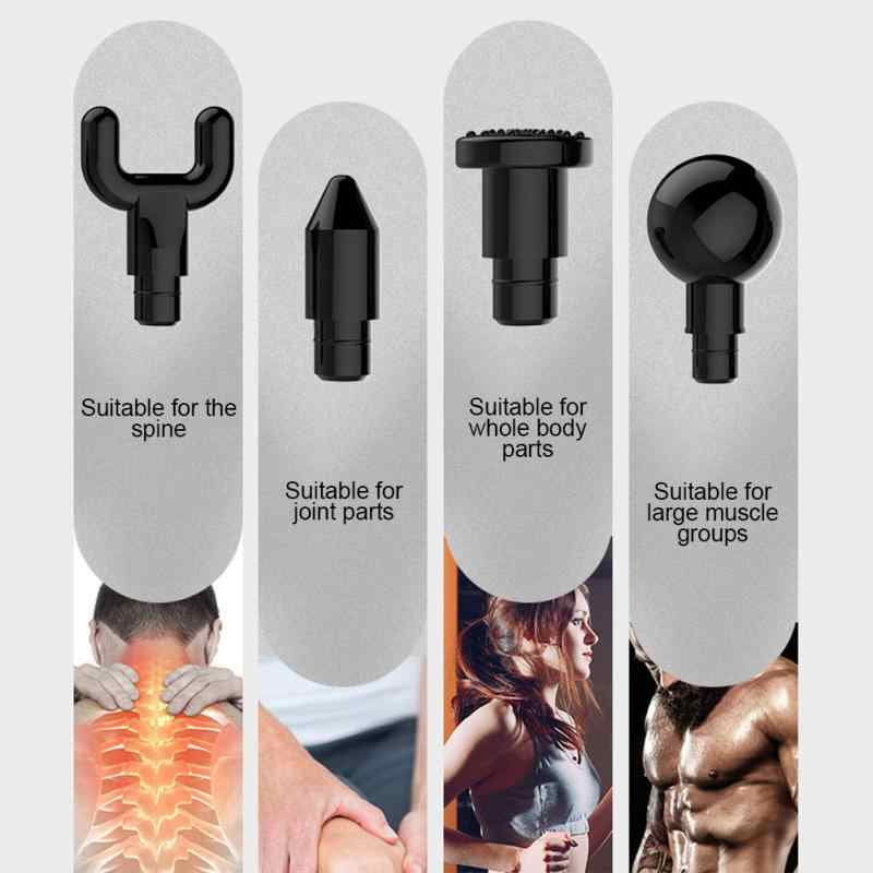 جديد L2 الكهربائية العضلات الاسترخاء تدليك باليد مدلك العضلات العميقة أجهزة لياقة بدنية معدات كمال الأجسام اكسسوارات