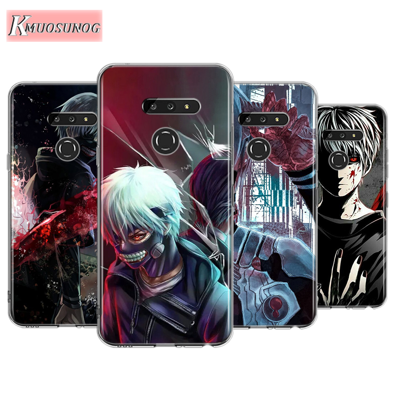 Anime Tokyo Ghouls For LG W30 W10 V50S V50 V40 V30 K50S K40S K30 K20 Q60 Q8 Q7 Q6 G8 G7 G6 Thinq Phone Case