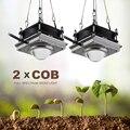 150 Вт COB светодиодный светильник для выращивания растений  для помещений  фито-лампа для растений  полный спектр  светодиодный светильник дл...
