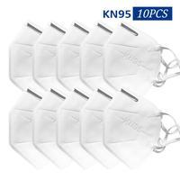 10PCS KN95 Mask Equivalent To FFP2 Mask Protection N95 Mask Metal Nose Masks Anti fog Dust proof Haze proof Anti fog Mask-in Masken aus Sicherheit und Schutz bei