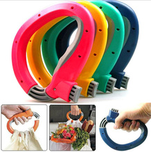 High quality Soft Grip Shopping Grocery Bag Easy Carrier Handle Holder  Handle Carrier Tool,Free shipping.