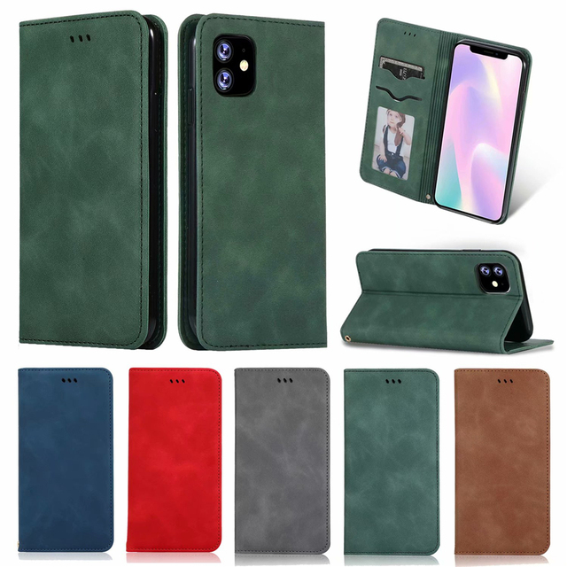 Luxury Leather Flip Wallet Case for iPhone 11/11 Pro/11 Pro Max 4