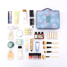 FUDEAM Poliestere Multifunzione Donne di Viaggio Sacchetto di Immagazzinaggio di Cortesia Organizzare Sacchetto Cosmetico Femminile Portatile Bagagli Make Up Custodie