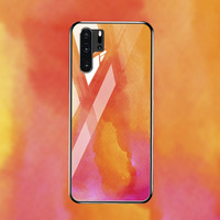silicone case Tempered Glass Case For Huawei P30 P20 pro Cases Space Silicone Covers for Huawei P30 P20 lite 2019 P20 lite 2018 back cover (3)