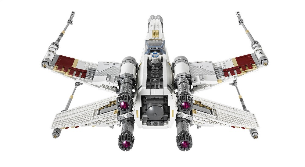 In Stock 05039 1586Pcs Star Wars Street Red Five X-wing Model Building Blocks Bricks Kids Toys Christmas Gift 10240 1