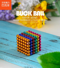 цена на 216Pcs/set 3mm Balls neodymium magnet Sphere Creative magnets imanes Magic Strong NdFeB colorful buck ball Cube Funny Puzzle Toy