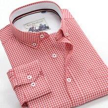 6XL 7XL 8XL 9XL 10XL大サイズのチェック柄長袖シャツ 2020 秋のブランドの服カジュアル青年男性のポケット綿シャツカジュアル シャツ