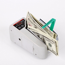 V30 Mini Portable Bill Counter Use Battery/Plug Handy LED screen Cash And Banknote Banknote