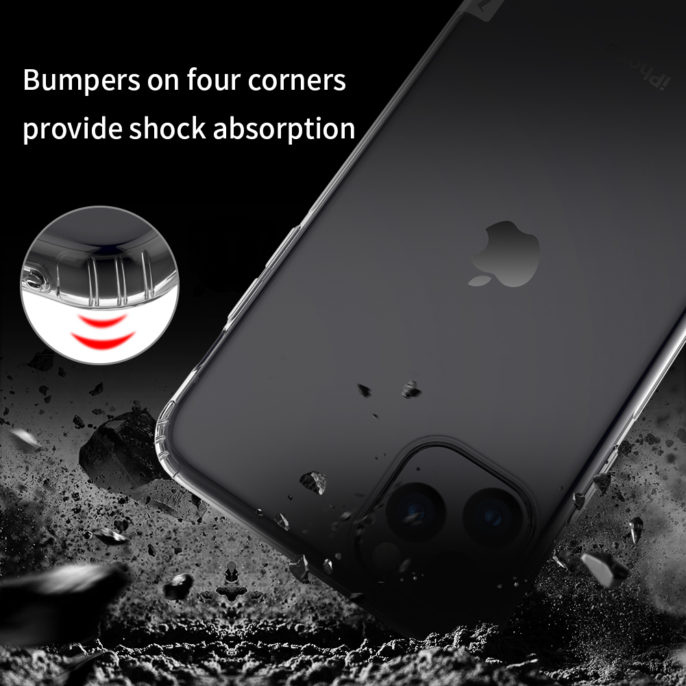 Nilikin Clear Case for iPhone 11, iPhone 11 Pro and iPhone 11 Pro Max 3