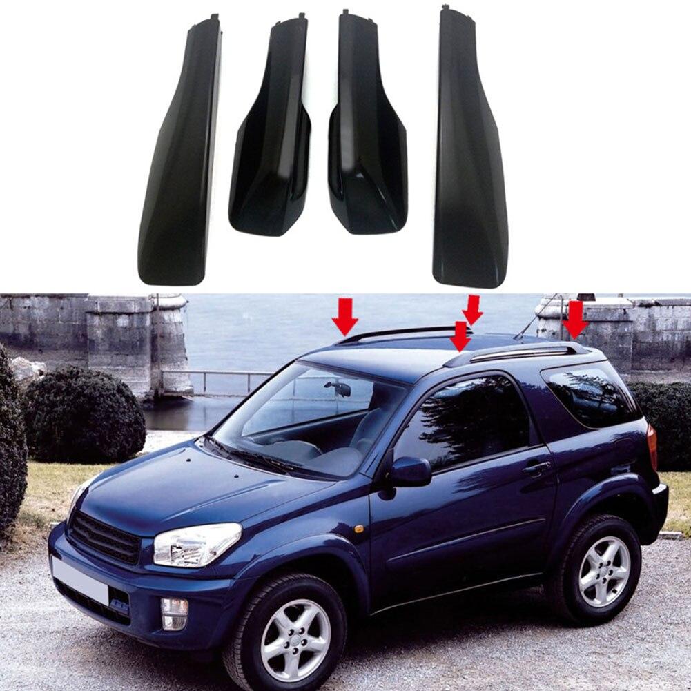 4 unids/set de estilo ABS coche techo recorte cubierta decoración protección potente vehículo accesorios para RAV4 2006-2012 Modelo a escala de 5 uds material de construcción techos de láminas de PVC en tamaño 210x300mm para diseño de la arquitectura