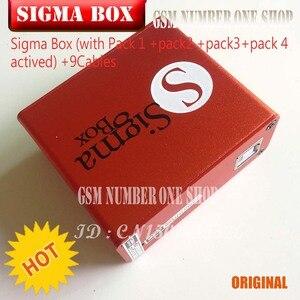 Image 5 - 2020 Più Nuovo Originale di 100% Sigma box + pack1 2 3 4/+ 9 Cavo + Pacchetto 1 + Pack 2 + pacchetto 3 + Pacchetto 4 nuovo aggiornamento per huawei .....
