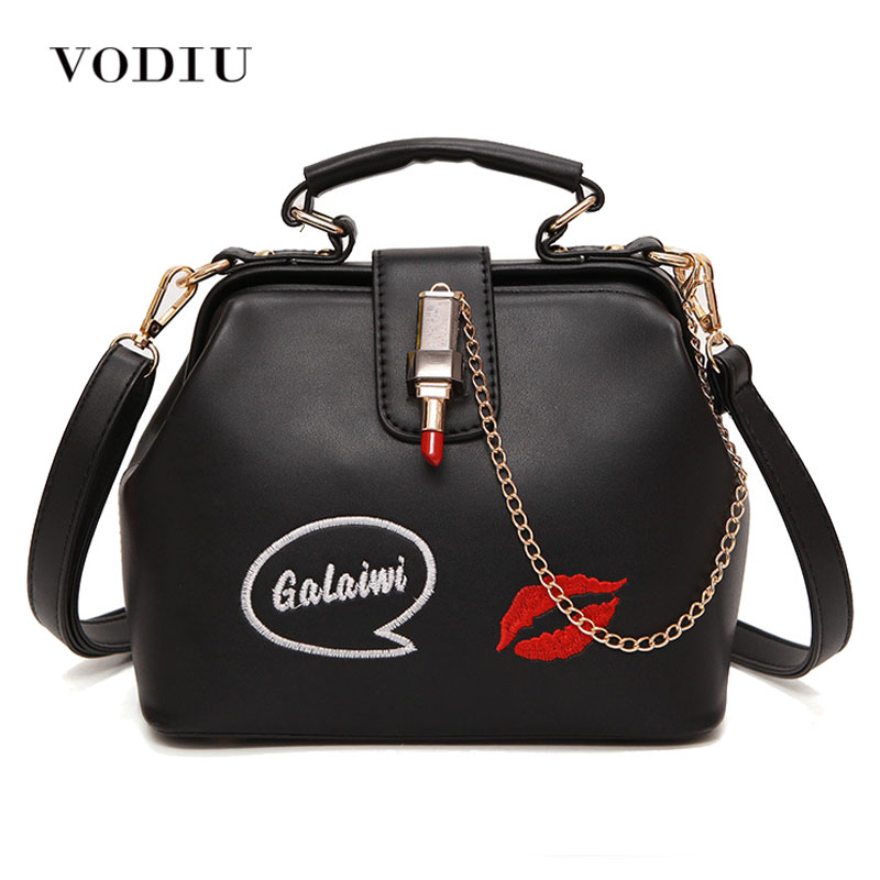 Women's Handbag New Fashion Handbag Women's Bag Female Leather Messenger Shoulder Bags Lipstick Casual Crossbody Bags
