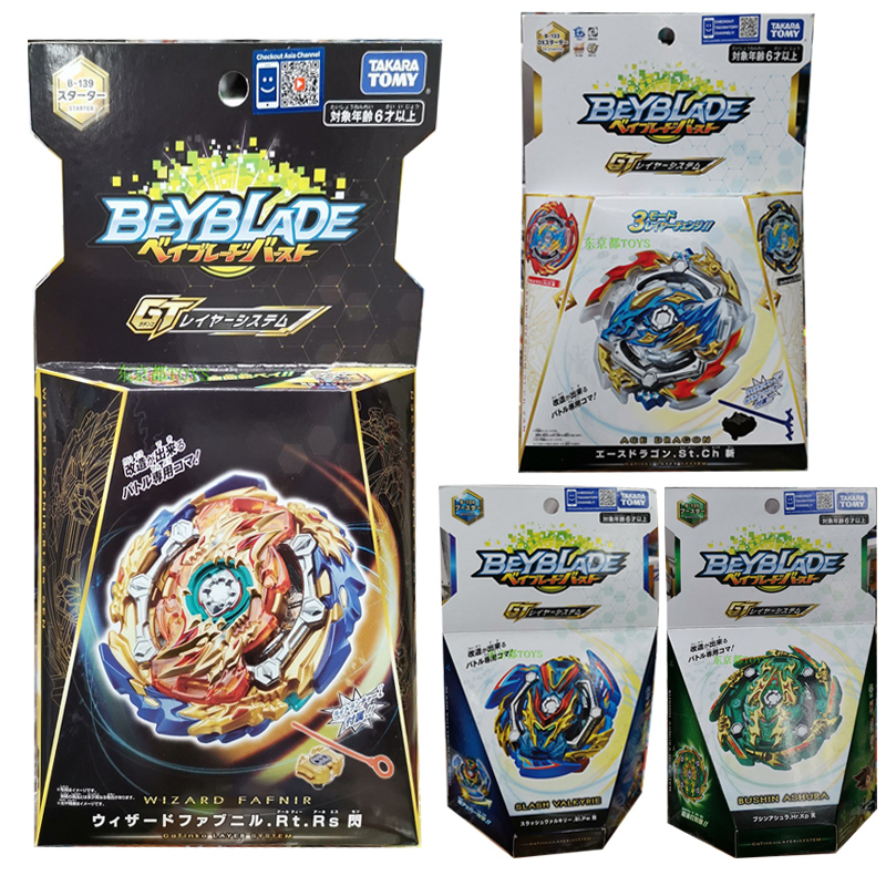 TAKARA TOMY Metal Fight Bey Blade Spinning Tops Toy Collections Beyblade B133 B134 B135 B139 Children Toy Collections Gifts