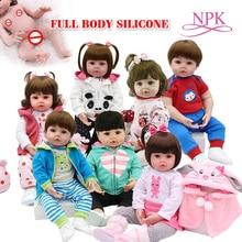 Игрушка для всего тела силиконовые водонепроницаемые игрушки для ванной популярные горячие продажи младенец получивший новую жизнь Детские куклы Bebe кукла Возрожденный мягкая на ощупь