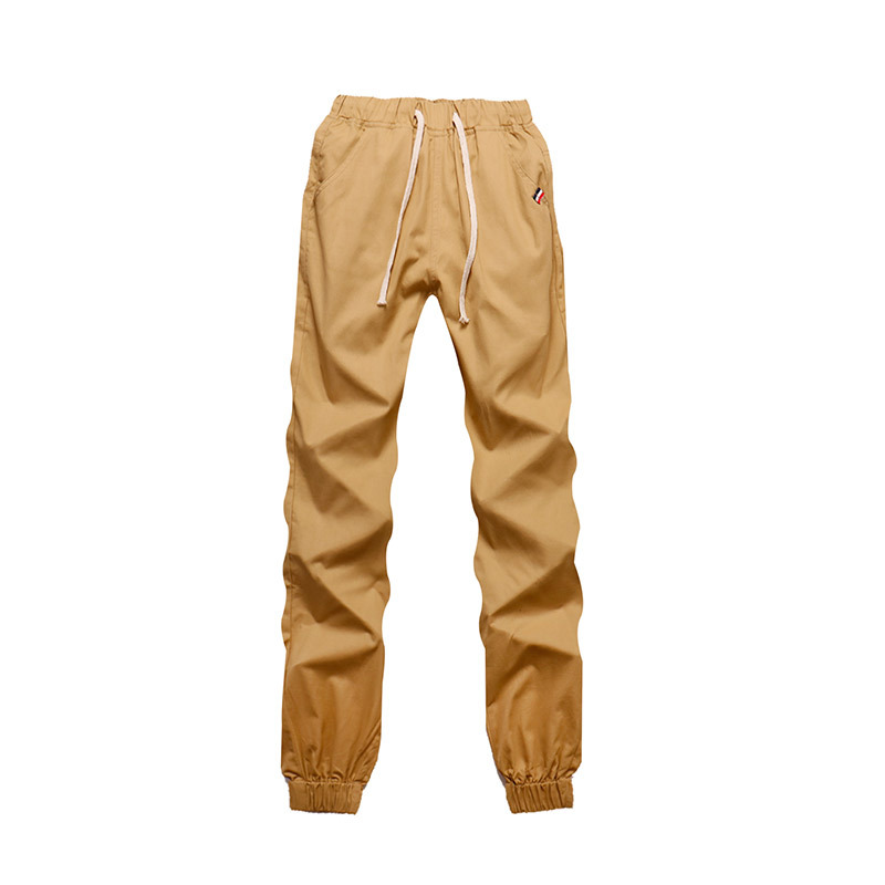 Spring And Autumn Men Capri Beam Leg Casual Pants Closing Beam Leg Camouflage Pants Trend Sweatpants Trousers