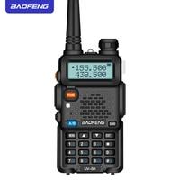 מכשיר הקשר Baofeng UV5R מכשיר הקשר מקצועי CB רדיו 5W UV הלהקה כפול שני רדיו דרך מכשיר הקשר במוסקבה ציד Ham Radio (2)