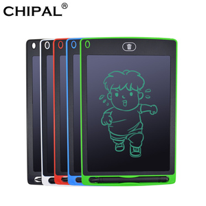 CHIPAL 8.5 Inch Smart LCD Writing Tablet Electronic Notepad Kids Drawing Graphics Handwriting Board Educational Toy + Battery(China)