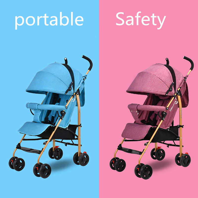 Good Quality Colorful Baby Cart Light Weight Baby Stroller Small Foldable Pram Cabinet Stroller Baby