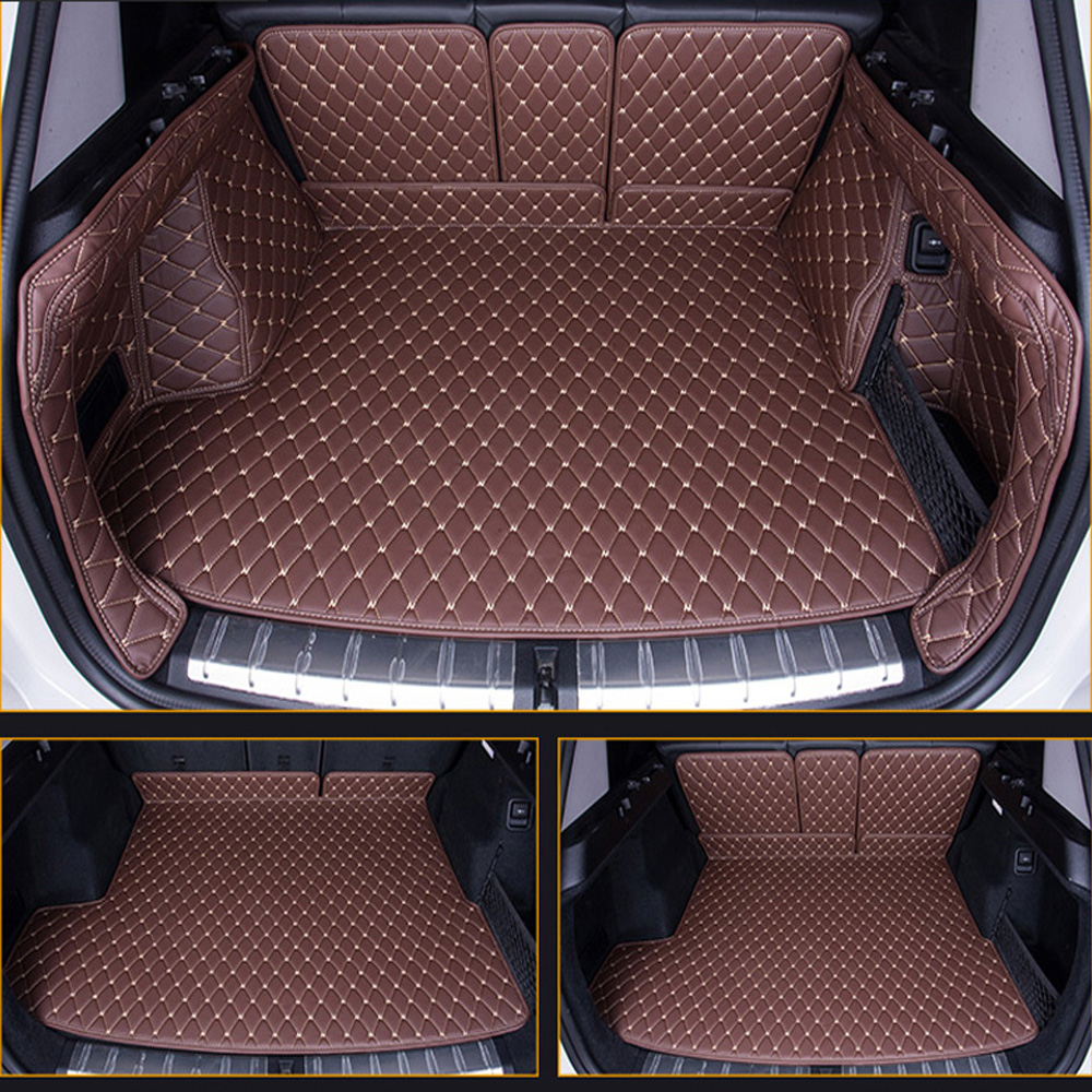 Custom fit car trunk mats for Toyota Corolla RAV4 Mark X Crown Verso FJ Cruiser yaris L 6D car styling carpet floor liner|  - title=