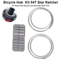 2pcs Spiral Spring Star Ratchet Bicycle Hub Service Kit 54T Star Ratchet For Road Axle Bicycle And Mountain Bike Cycling Part